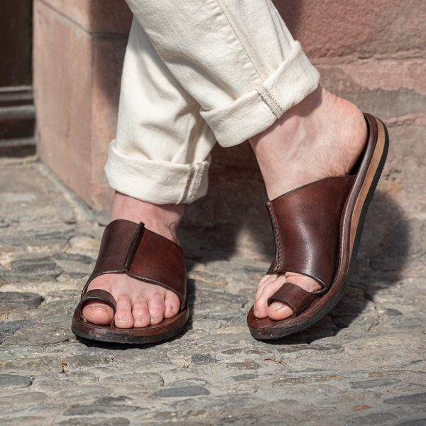 Leder-Pantolette Amalfi