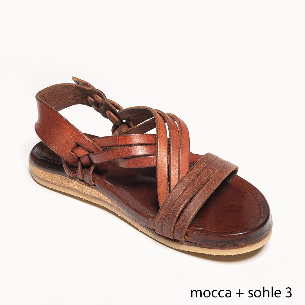Handgenähte robuste Sandale Mexico Handnaht