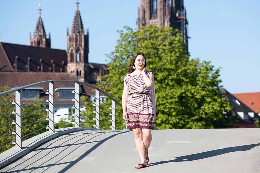 Lifestyle Bild vor dem Münster