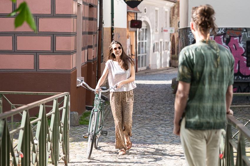 Lifestyle Bild in der Stadt